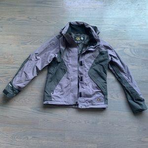Purple/gray Mountain Hardwear ski snowboard jacket